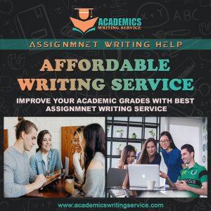 ACADEMICS WRITING SERVICE
